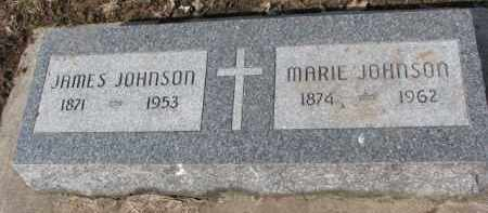JOHNSON, MARIE - Dixon County, Nebraska   MARIE JOHNSON - Nebraska Gravestone Photos