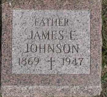 JOHNSON, JAMES E. - Dixon County, Nebraska | JAMES E. JOHNSON - Nebraska Gravestone Photos