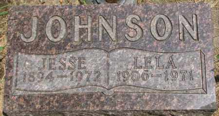 JOHNSON, JESSE - Dixon County, Nebraska | JESSE JOHNSON - Nebraska Gravestone Photos