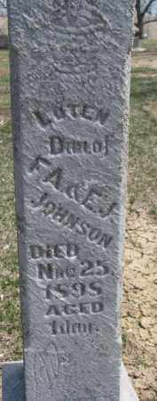 JOHNSON, LOTEN - Dixon County, Nebraska | LOTEN JOHNSON - Nebraska Gravestone Photos