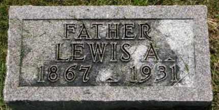 JOHNSON, LEWIS A. - Dixon County, Nebraska   LEWIS A. JOHNSON - Nebraska Gravestone Photos