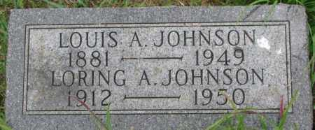JOHNSON, LORING A. - Dixon County, Nebraska | LORING A. JOHNSON - Nebraska Gravestone Photos