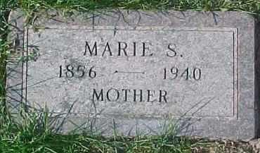 JOHNSON, MARIE SOPHIA - Dixon County, Nebraska   MARIE SOPHIA JOHNSON - Nebraska Gravestone Photos
