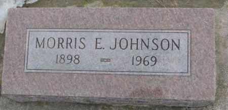 JOHNSON, MORRIS E. - Dixon County, Nebraska | MORRIS E. JOHNSON - Nebraska Gravestone Photos
