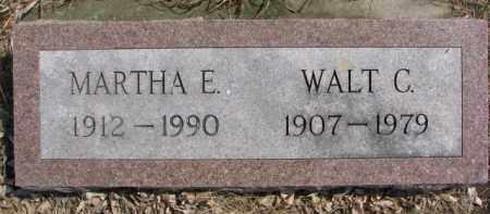 JOHNSON, WALT C. - Dixon County, Nebraska   WALT C. JOHNSON - Nebraska Gravestone Photos