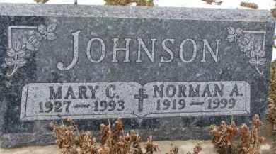 JOHNSON, MARY C. - Dixon County, Nebraska | MARY C. JOHNSON - Nebraska Gravestone Photos