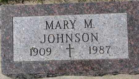 JOHNSON, MARY M. - Dixon County, Nebraska | MARY M. JOHNSON - Nebraska Gravestone Photos