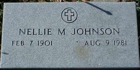 JOHNSON, NELLIE M. - Dixon County, Nebraska | NELLIE M. JOHNSON - Nebraska Gravestone Photos