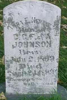 JOHNSON, NOAH - Dixon County, Nebraska | NOAH JOHNSON - Nebraska Gravestone Photos