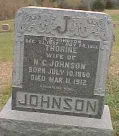 JOHNSON, THORINE - Dixon County, Nebraska | THORINE JOHNSON - Nebraska Gravestone Photos