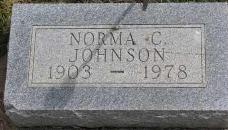 JOHNSON, NORMA C. - Dixon County, Nebraska   NORMA C. JOHNSON - Nebraska Gravestone Photos