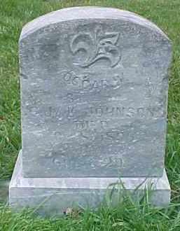JOHNSON, OSCAR W. - Dixon County, Nebraska | OSCAR W. JOHNSON - Nebraska Gravestone Photos