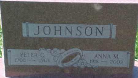 JOHNSON, PETER C. - Dixon County, Nebraska | PETER C. JOHNSON - Nebraska Gravestone Photos