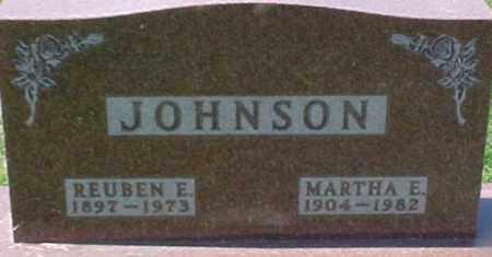 JOHNSON, MARTHA E. - Dixon County, Nebraska | MARTHA E. JOHNSON - Nebraska Gravestone Photos