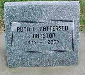 PATTERSON JOHNSON, RUTH E. - Dixon County, Nebraska | RUTH E. PATTERSON JOHNSON - Nebraska Gravestone Photos