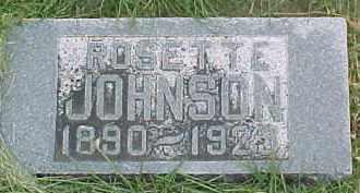 JOHNSON, ROSETTE - Dixon County, Nebraska   ROSETTE JOHNSON - Nebraska Gravestone Photos