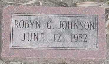 JOHNSON, ROBYN G. - Dixon County, Nebraska   ROBYN G. JOHNSON - Nebraska Gravestone Photos