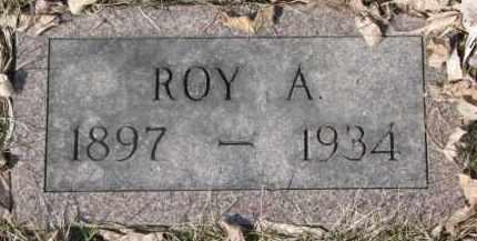 JOHNSON, ROY A. - Dixon County, Nebraska | ROY A. JOHNSON - Nebraska Gravestone Photos
