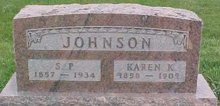 JOHNSON, KAREN K. - Dixon County, Nebraska | KAREN K. JOHNSON - Nebraska Gravestone Photos