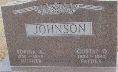 JOHNSON, GUSTAF O. - Dixon County, Nebraska   GUSTAF O. JOHNSON - Nebraska Gravestone Photos