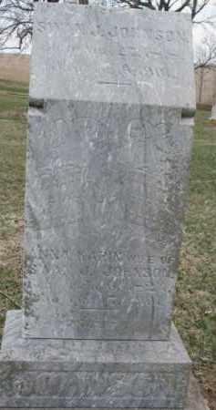 JOHNSON, ANNA KARIN - Dixon County, Nebraska   ANNA KARIN JOHNSON - Nebraska Gravestone Photos