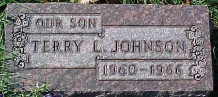 JOHNSON, TERRY L. - Dixon County, Nebraska | TERRY L. JOHNSON - Nebraska Gravestone Photos
