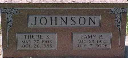 JOHNSON, FAMY R. - Dixon County, Nebraska | FAMY R. JOHNSON - Nebraska Gravestone Photos