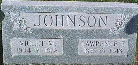 JOHNSON, VIOLET M. - Dixon County, Nebraska | VIOLET M. JOHNSON - Nebraska Gravestone Photos