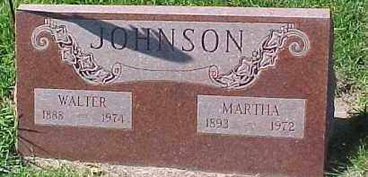 JOHNSON, WALTER - Dixon County, Nebraska | WALTER JOHNSON - Nebraska Gravestone Photos
