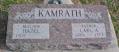 KAMRATH, CARL A. - Dixon County, Nebraska | CARL A. KAMRATH - Nebraska Gravestone Photos