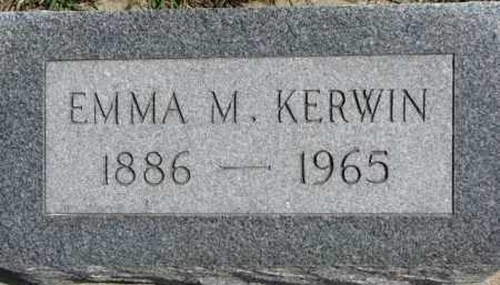KERWIN, EMMA M. - Dixon County, Nebraska | EMMA M. KERWIN - Nebraska Gravestone Photos