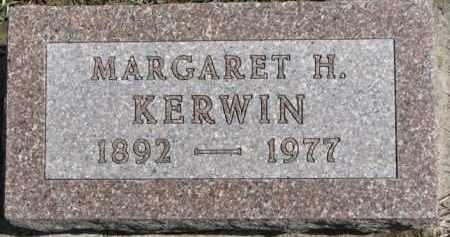 KERWIN, MARGARET H. - Dixon County, Nebraska   MARGARET H. KERWIN - Nebraska Gravestone Photos
