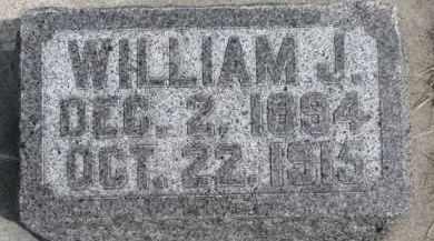 KIELY, WILLIAM J. - Dixon County, Nebraska   WILLIAM J. KIELY - Nebraska Gravestone Photos