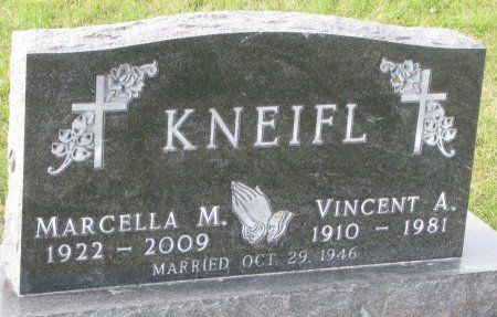 BURBACH KNEIFL, MARCELLA M. - Dixon County, Nebraska | MARCELLA M. BURBACH KNEIFL - Nebraska Gravestone Photos