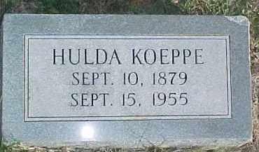 KOEPPE, HULDA - Dixon County, Nebraska | HULDA KOEPPE - Nebraska Gravestone Photos