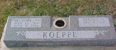 KOEPPE, THEODORE - Dixon County, Nebraska | THEODORE KOEPPE - Nebraska Gravestone Photos