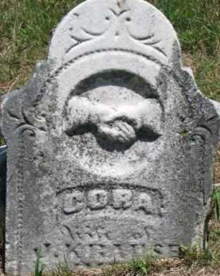 KRAUSE, CORA - Dixon County, Nebraska | CORA KRAUSE - Nebraska Gravestone Photos