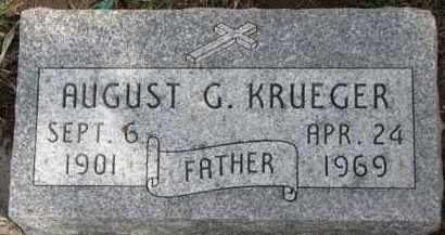 KRUEGER, AUGUST C. - Dixon County, Nebraska | AUGUST C. KRUEGER - Nebraska Gravestone Photos