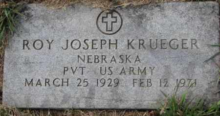 KRUEGER, ROY JOSEPH - Dixon County, Nebraska | ROY JOSEPH KRUEGER - Nebraska Gravestone Photos