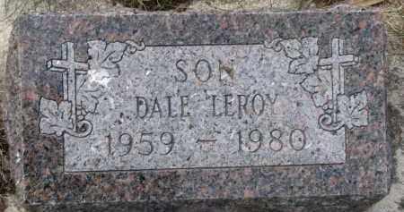 KRUSEMARK, DALE LEROY - Dixon County, Nebraska | DALE LEROY KRUSEMARK - Nebraska Gravestone Photos