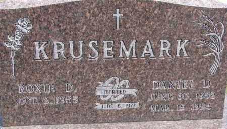 KRUSEMARK, ROXIE D. - Dixon County, Nebraska | ROXIE D. KRUSEMARK - Nebraska Gravestone Photos