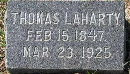 LAHARTY, THOMAS - Dixon County, Nebraska | THOMAS LAHARTY - Nebraska Gravestone Photos