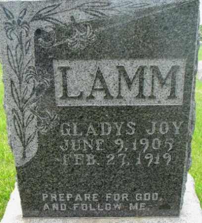 LAMM, GLADYS JOY - Dixon County, Nebraska | GLADYS JOY LAMM - Nebraska Gravestone Photos