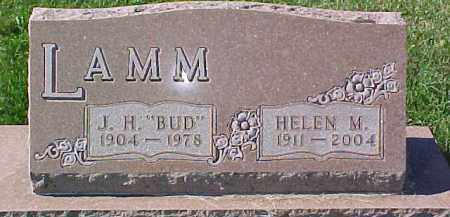 "LAMM, J.H. ""BUD"" - Dixon County, Nebraska | J.H. ""BUD"" LAMM - Nebraska Gravestone Photos"