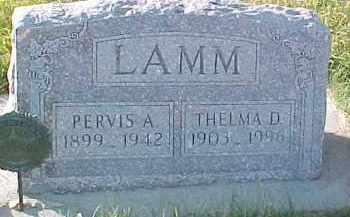 LAMM, PERVIS A. - Dixon County, Nebraska | PERVIS A. LAMM - Nebraska Gravestone Photos