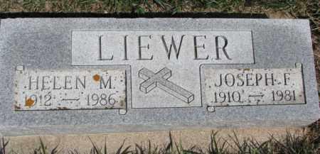 LIEWER, JOSEPH F. - Dixon County, Nebraska   JOSEPH F. LIEWER - Nebraska Gravestone Photos