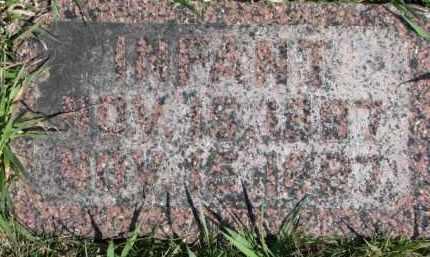 LIEWER, INFANT - Dixon County, Nebraska | INFANT LIEWER - Nebraska Gravestone Photos