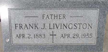 LINVINGSTON, FRANK J. - Dixon County, Nebraska | FRANK J. LINVINGSTON - Nebraska Gravestone Photos