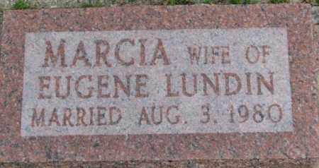 LUNDIN, MARCIA - Dixon County, Nebraska   MARCIA LUNDIN - Nebraska Gravestone Photos