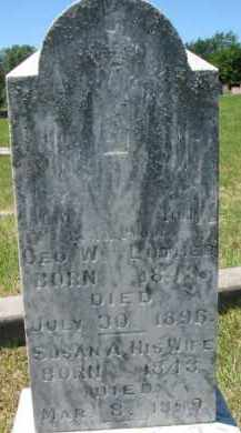 LUTHER, SUSAN A. - Dixon County, Nebraska | SUSAN A. LUTHER - Nebraska Gravestone Photos